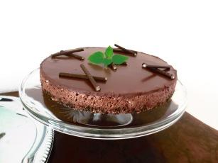Minz-Schokoladen-Torte
