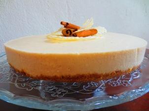 Apfel-Zimt-Cheesecake