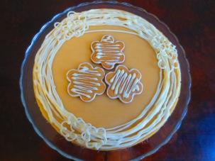 Weihnachtscheesecake
